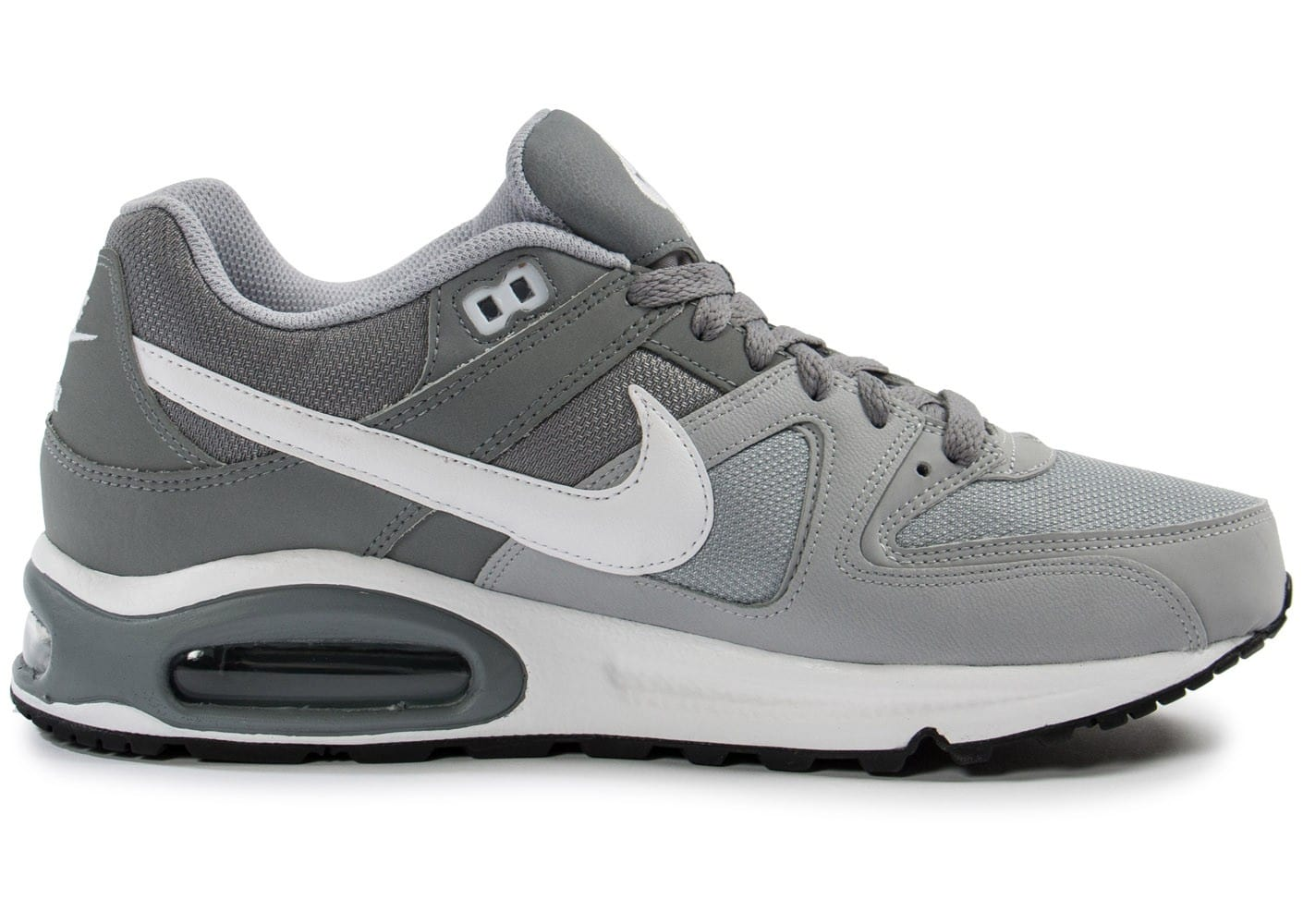 soldes nike air max command grise chaussures homme chausport. Black Bedroom Furniture Sets. Home Design Ideas