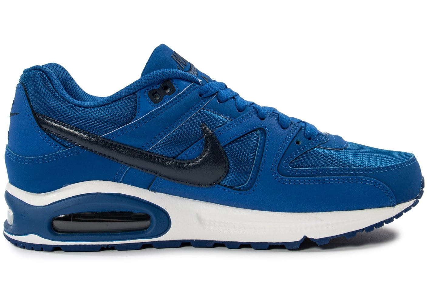 soldes nike air max command bleue chaussures homme chausport. Black Bedroom Furniture Sets. Home Design Ideas