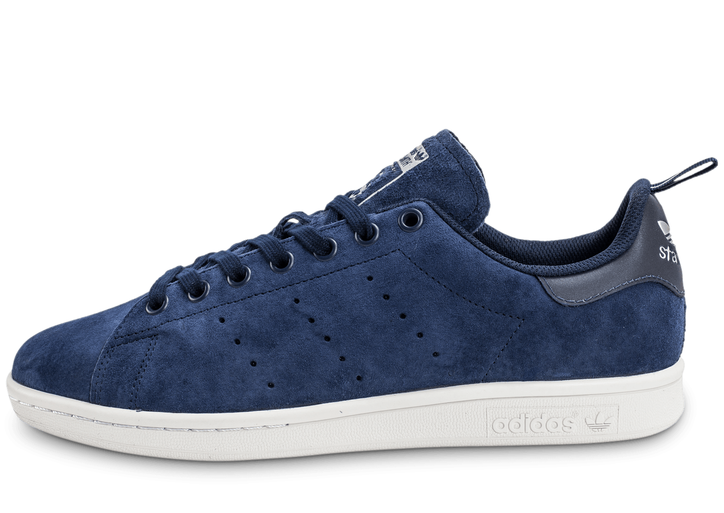 soldes adidas stan smith suede bleu marine chaussures homme chausport. Black Bedroom Furniture Sets. Home Design Ideas