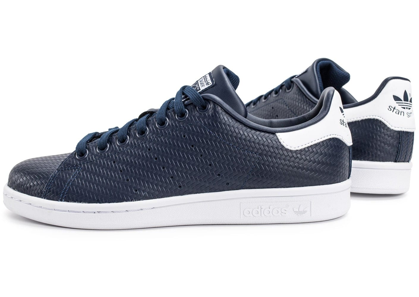 adidas stan smith relief bleu marine chaussures homme chausport. Black Bedroom Furniture Sets. Home Design Ideas