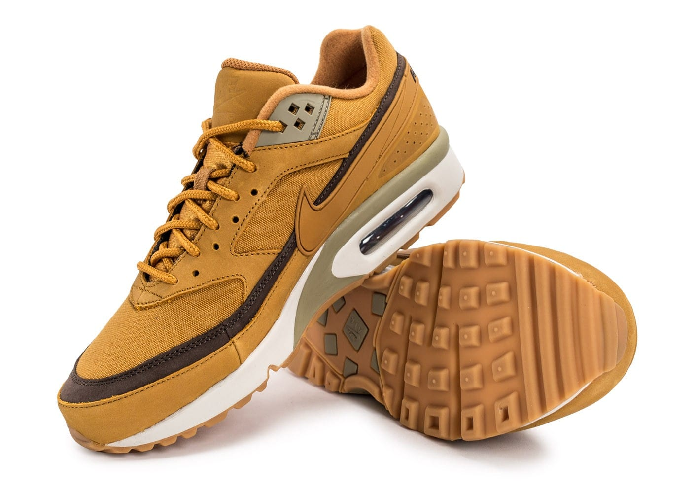 newest collection 79c42 4e915 chaussures nike air max bw wheat vue avant