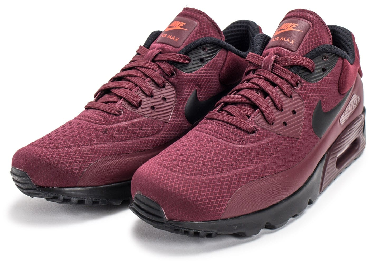 Nike Air Max 90 Ultra SE bordeaux - Chaussures Homme ...