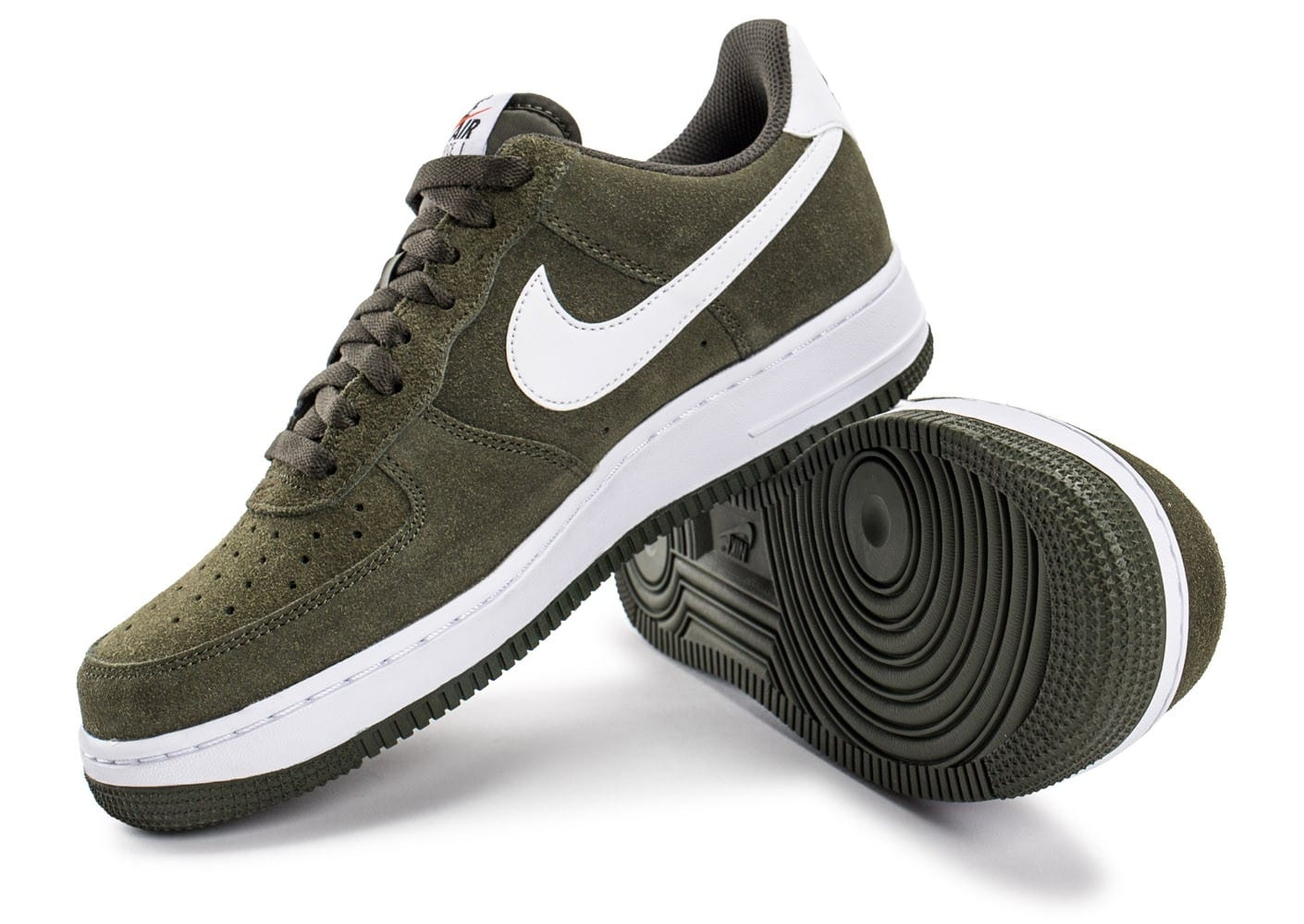 nike air force 1 suede kaki chaussures homme chausport. Black Bedroom Furniture Sets. Home Design Ideas