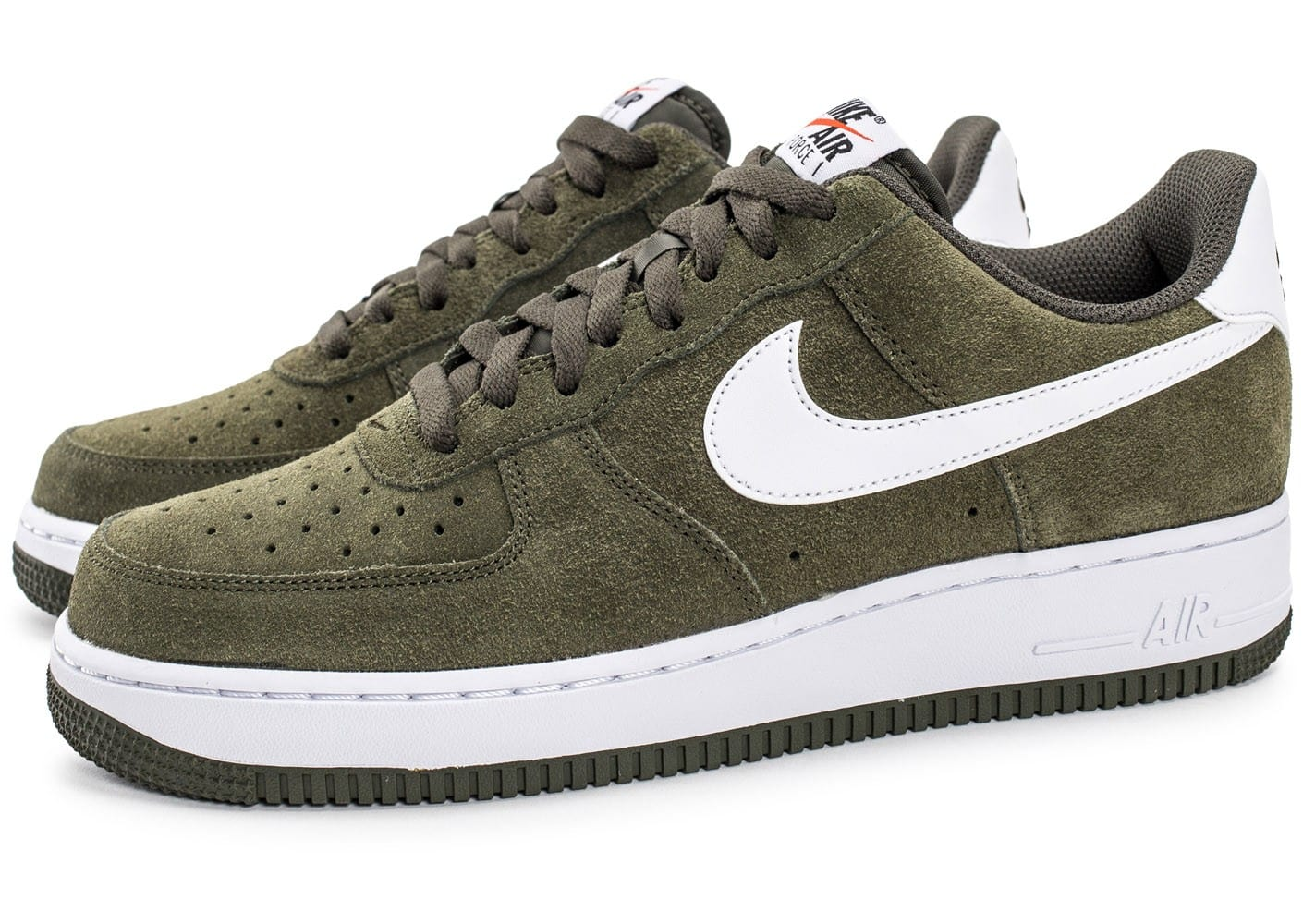 nike air force 1 suede kaki chaussures baskets homme chausport. Black Bedroom Furniture Sets. Home Design Ideas