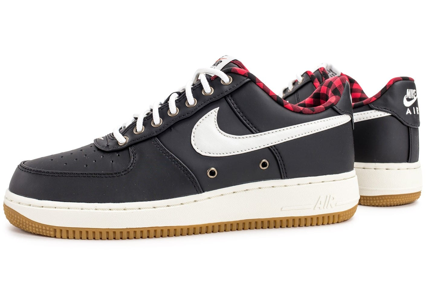 nike air force 1 39 07 lv08 lumberjack noire chaussures homme chausport. Black Bedroom Furniture Sets. Home Design Ideas