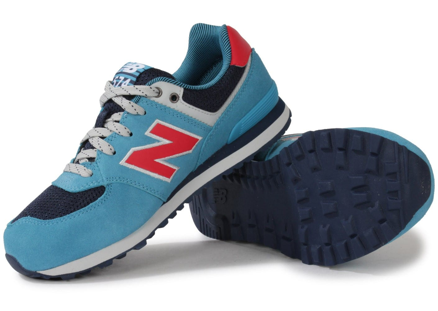 vente timberland - 0533-chaussures-new-balance-kl574-cag-turquoise-vue-dessous-semelle.jpg