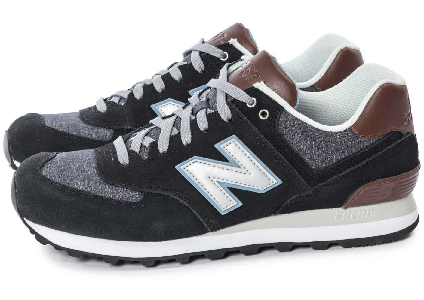 Chaussures New Balance grises Casual CmWCs1e