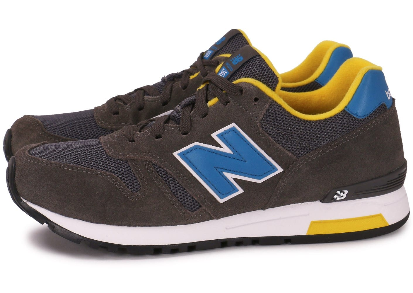 new balance ml565 snr grise chaussures homme chausport. Black Bedroom Furniture Sets. Home Design Ideas