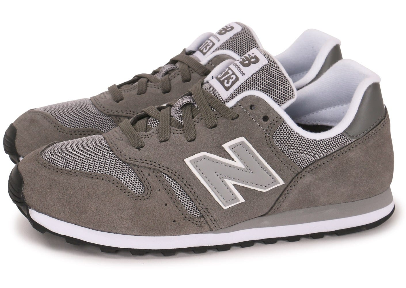 new balance ml373 grise chaussures homme chausport. Black Bedroom Furniture Sets. Home Design Ideas
