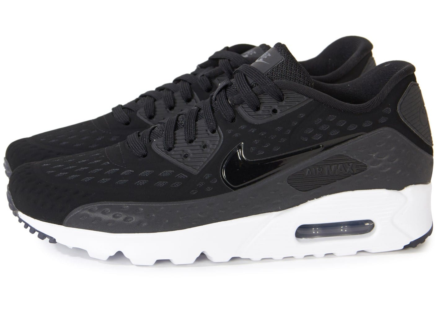 nike air max 90 ultra br noire chaussures homme chausport. Black Bedroom Furniture Sets. Home Design Ideas