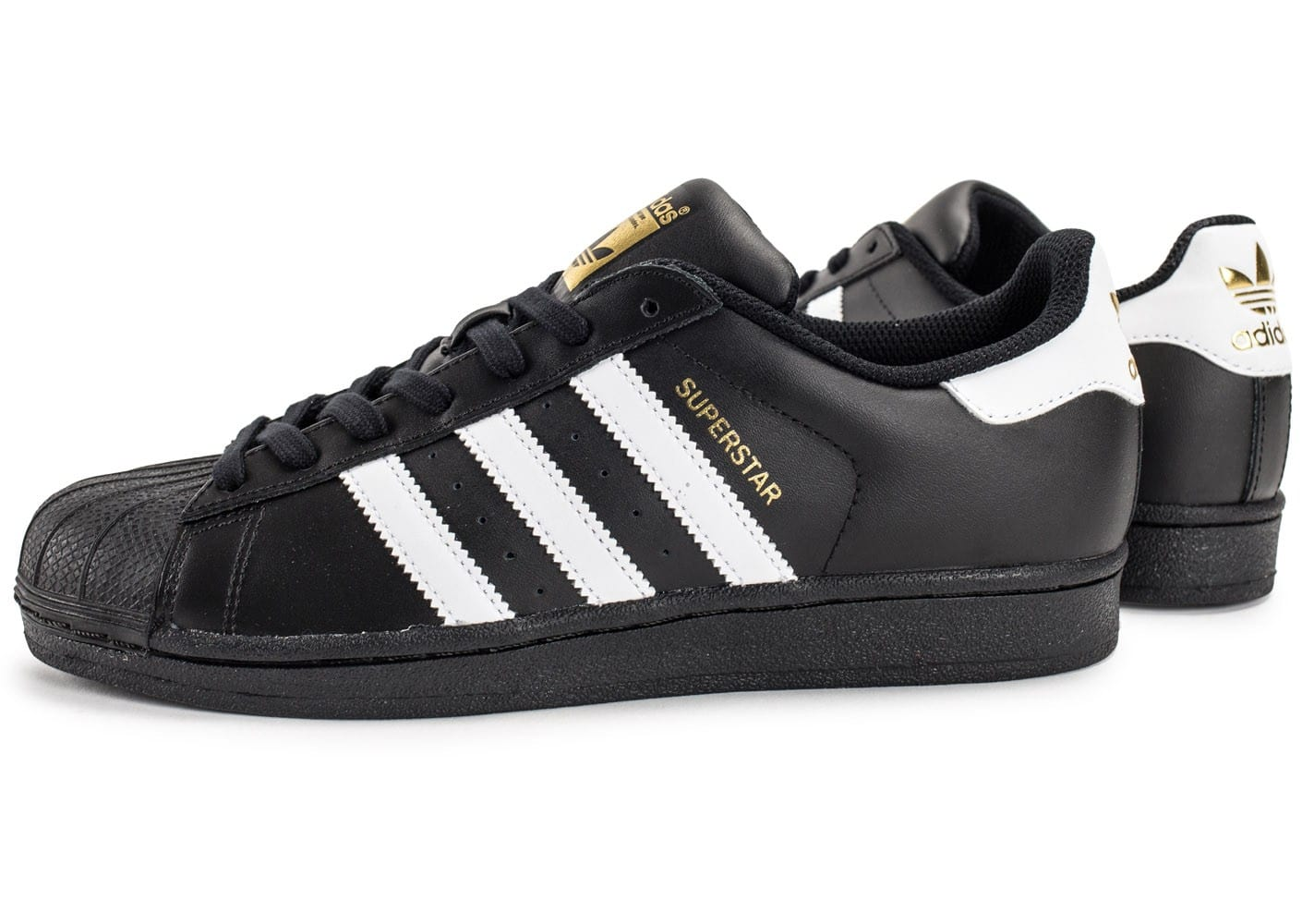 adidas superstar foundation noire chaussures homme chausport. Black Bedroom Furniture Sets. Home Design Ideas