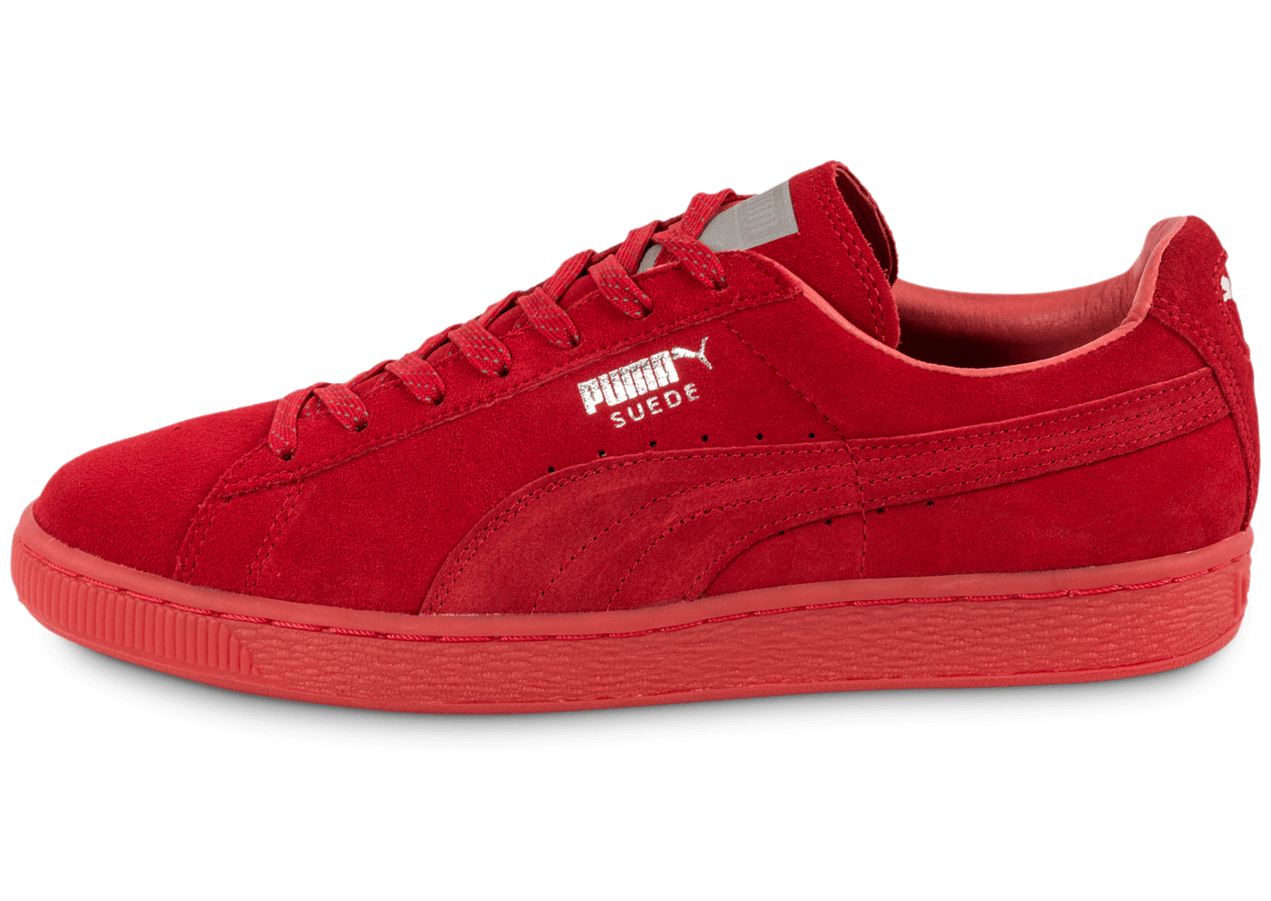 puma suede classic ref iced red chaussures homme chausport. Black Bedroom Furniture Sets. Home Design Ideas