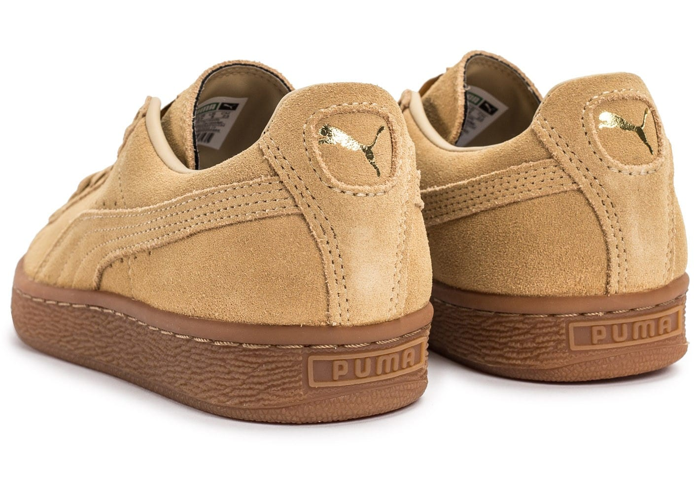 puma suede classic w beige gum chaussures black friday. Black Bedroom Furniture Sets. Home Design Ideas