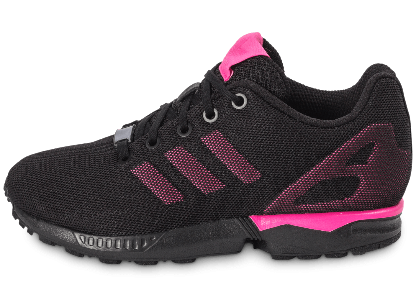 adidas zx flux fille rose