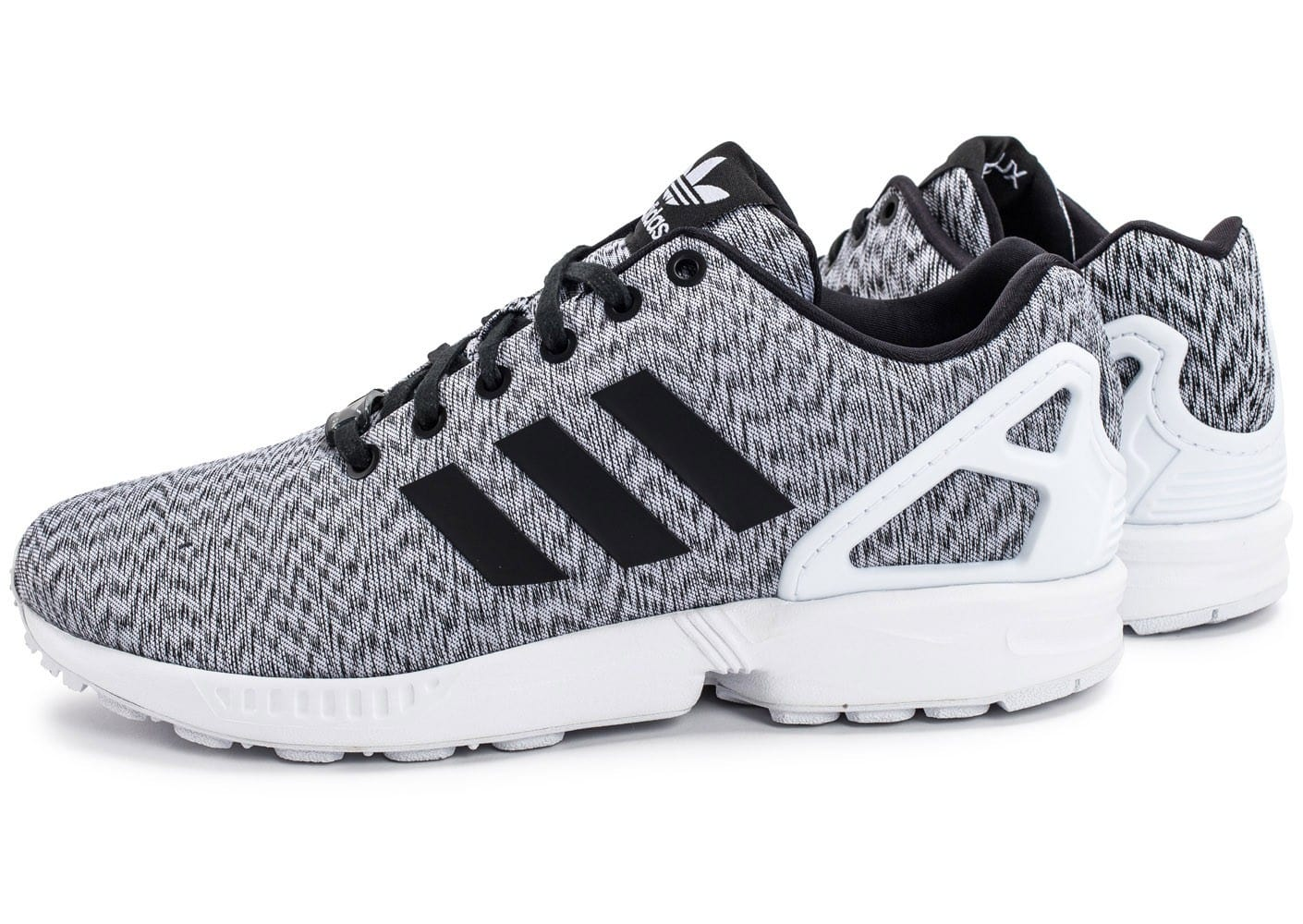 adidas zx flux mesh blanche chaussures homme chausport. Black Bedroom Furniture Sets. Home Design Ideas