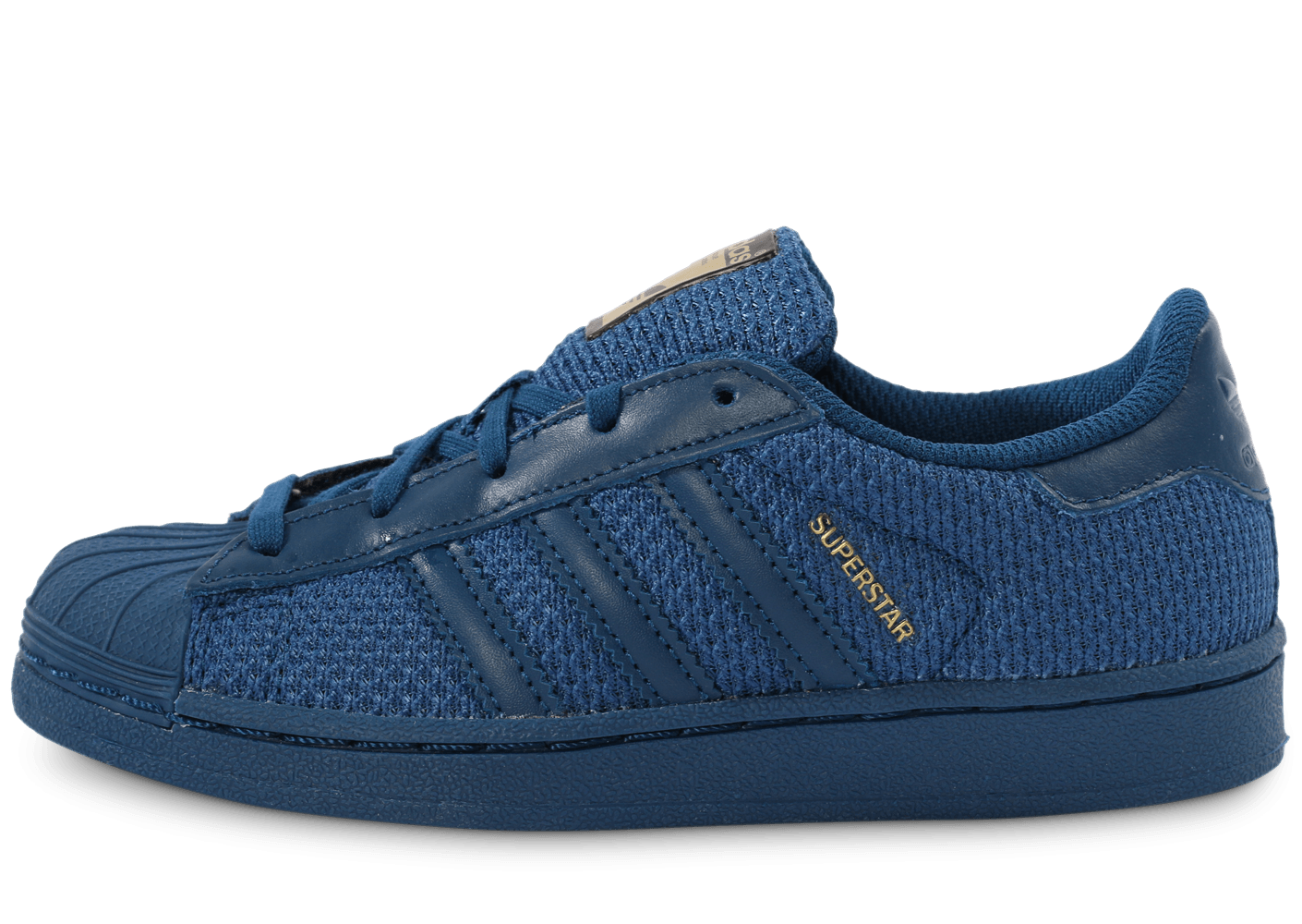 soldes adidas superstar nylon bleu marine enfant chaussures adidas chausport. Black Bedroom Furniture Sets. Home Design Ideas