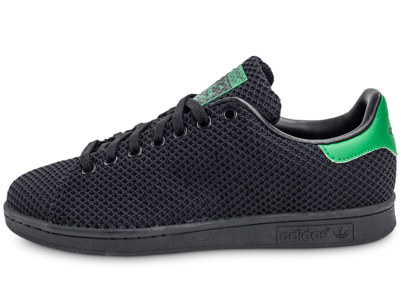 adidas stan smith circular knit noire chaussures homme chausport. Black Bedroom Furniture Sets. Home Design Ideas
