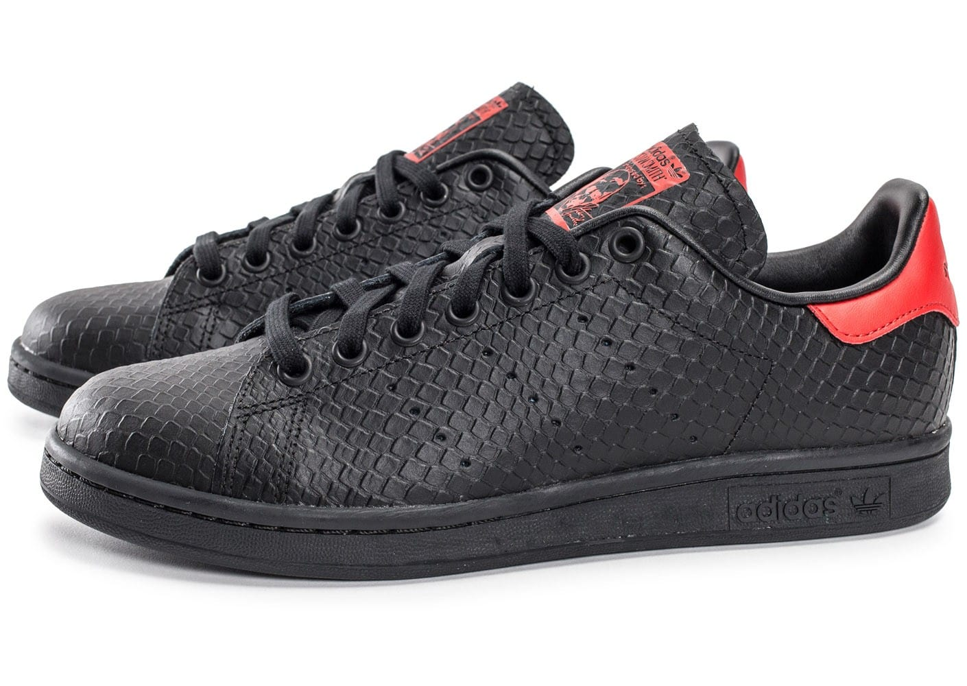 Stan Smith Noir Rouge