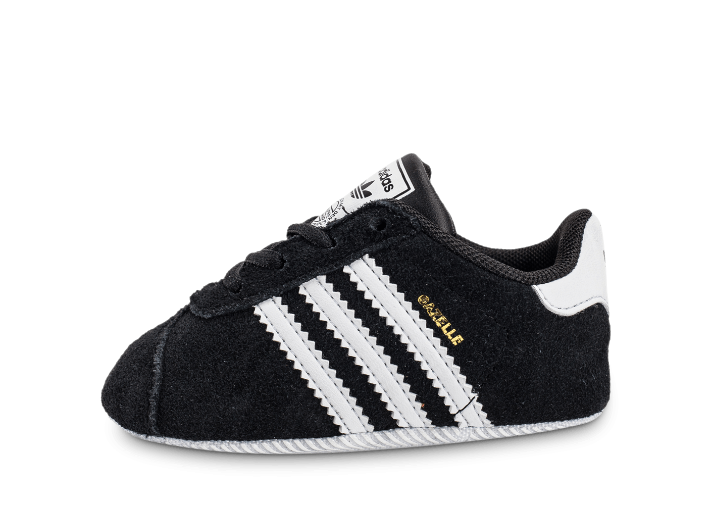 adidas gazelle crib b b noire chaussures adidas chausport. Black Bedroom Furniture Sets. Home Design Ideas