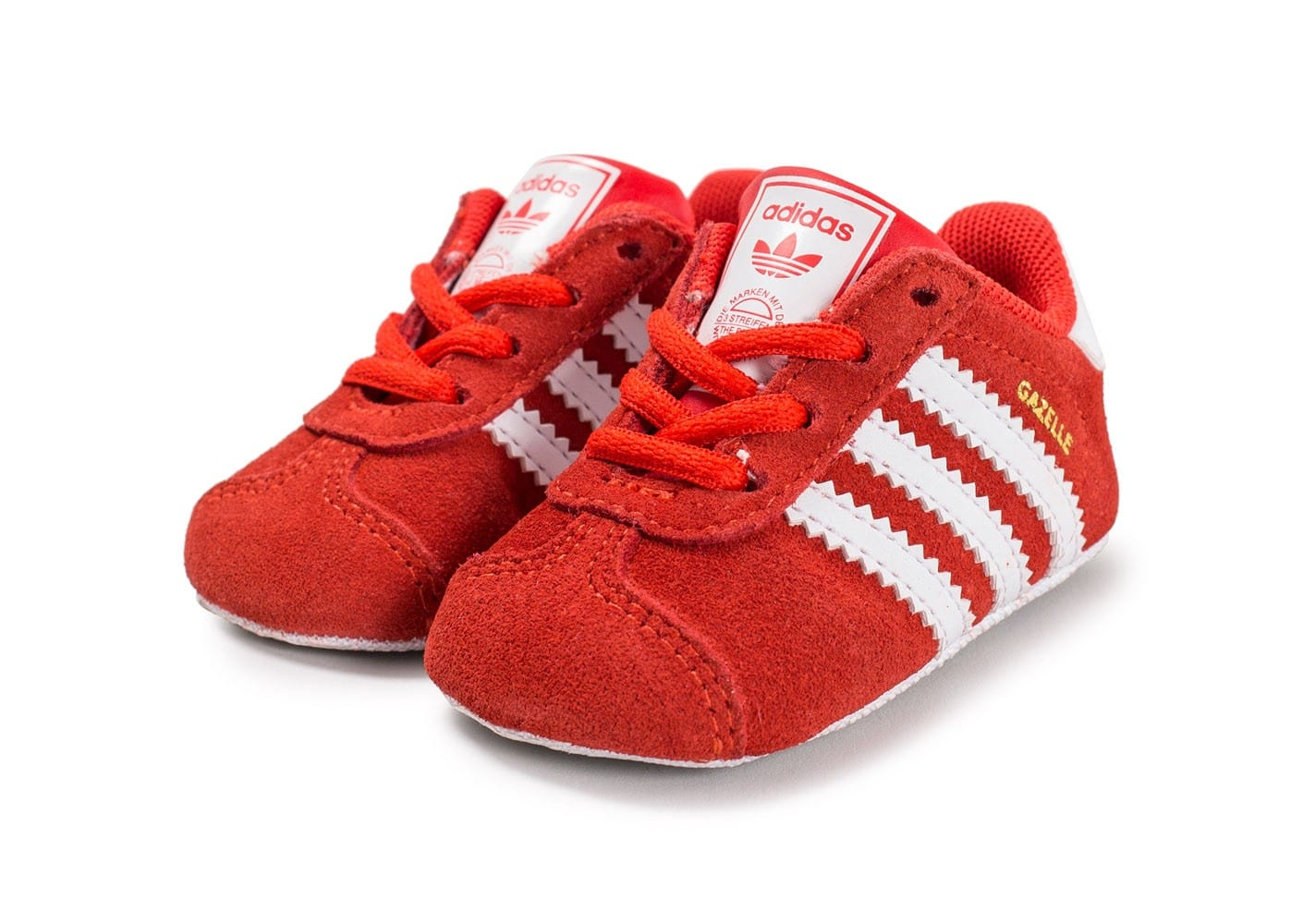 adidas gazelle crib b b rouge chaussures adidas chausport. Black Bedroom Furniture Sets. Home Design Ideas