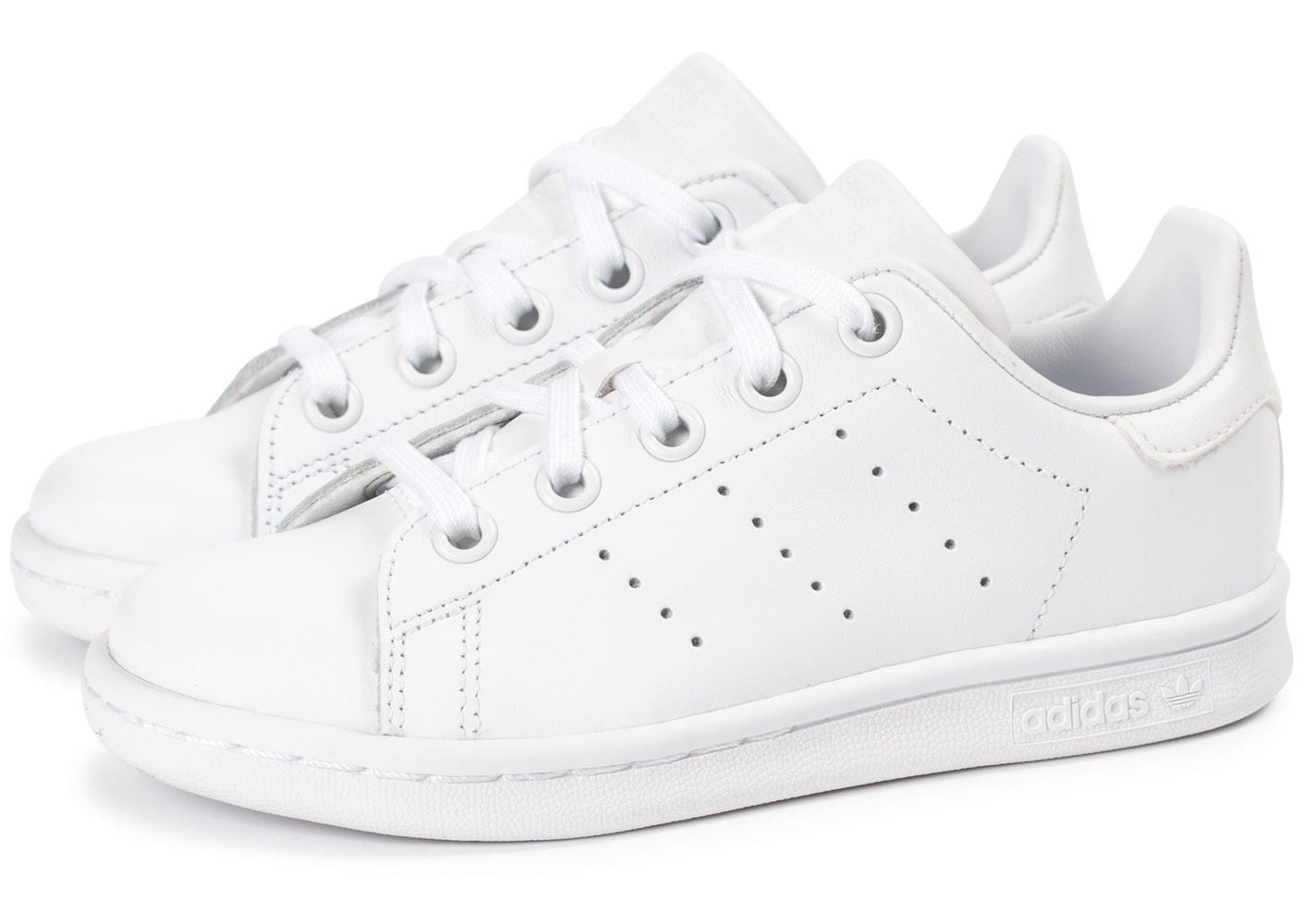 adidas stan smith enfant blanche chaussures adidas chausport. Black Bedroom Furniture Sets. Home Design Ideas