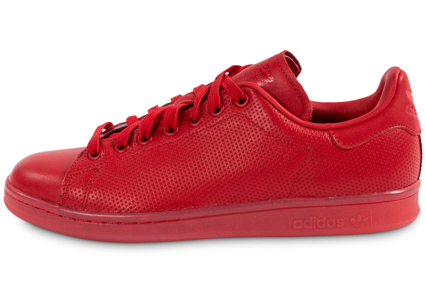 adidas stan smith cuir rouge