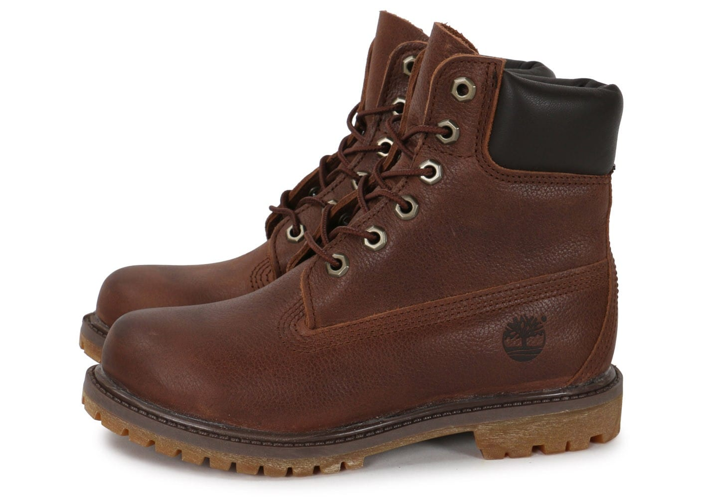 timberland 6 inch premium boot f marron chaussures. Black Bedroom Furniture Sets. Home Design Ideas