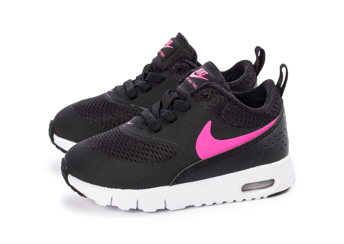 nike air max thea b b noire et rose chaussures enfant. Black Bedroom Furniture Sets. Home Design Ideas