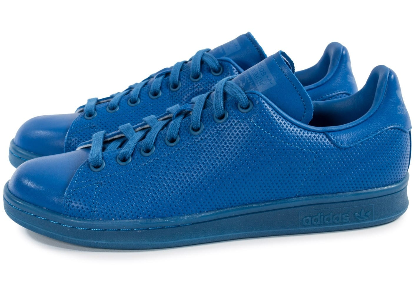 adidas stan smith adicolor bleu chaussures homme chausport. Black Bedroom Furniture Sets. Home Design Ideas
