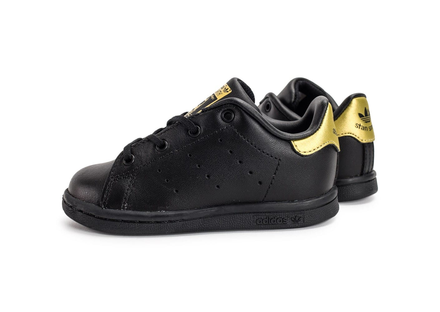 adidas stan smith b b noire et or chaussures adidas chausport. Black Bedroom Furniture Sets. Home Design Ideas