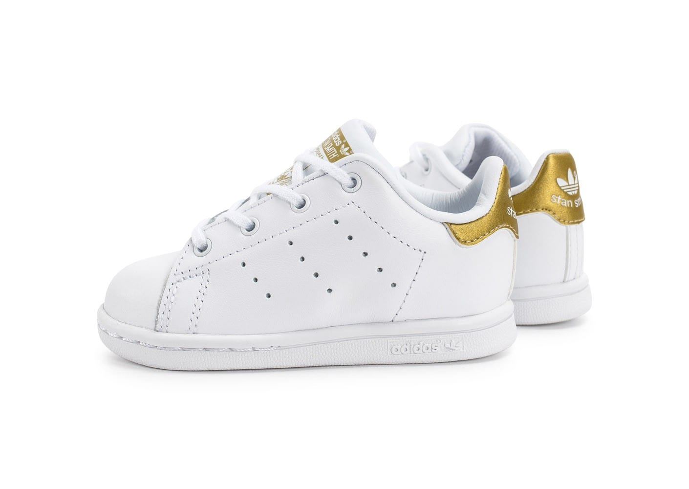 adidas stan smith b b blanche et or chaussures adidas chausport. Black Bedroom Furniture Sets. Home Design Ideas