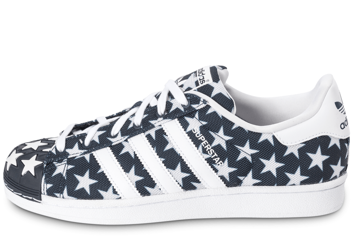adidas superstar shell toe star pack bleu marine chaussures homme chausport. Black Bedroom Furniture Sets. Home Design Ideas