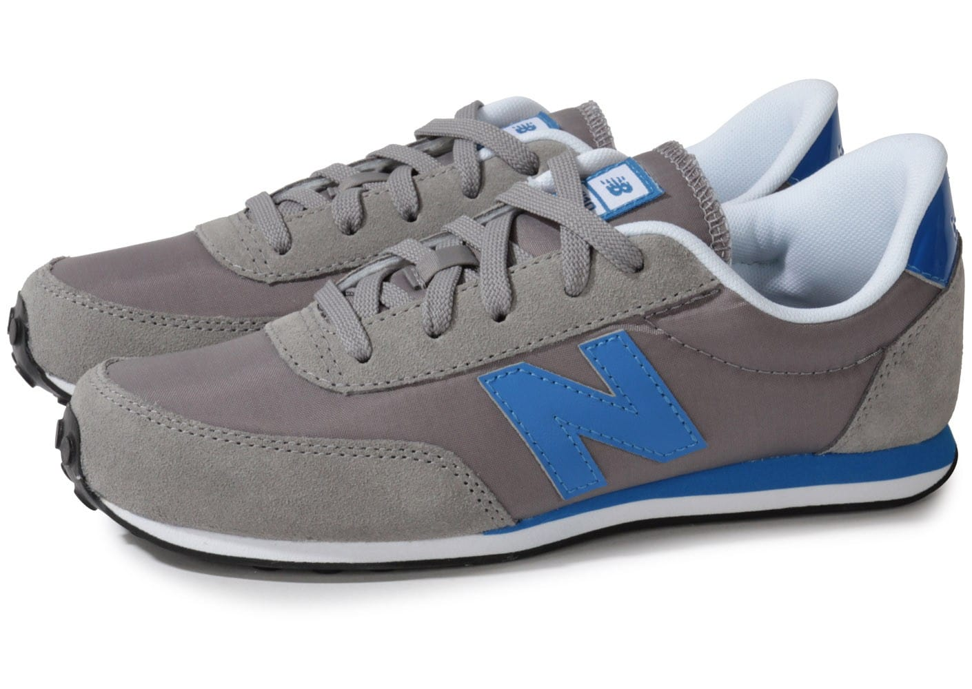 new balance kl410 junior grise chaussures chaussures chausport. Black Bedroom Furniture Sets. Home Design Ideas