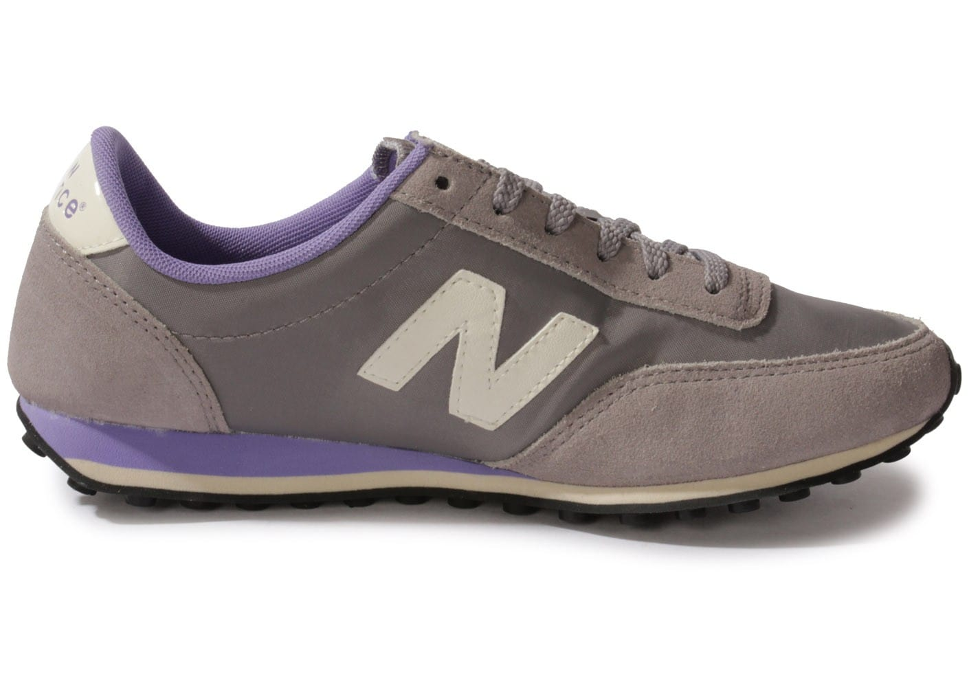 new balance ul410 suede grise mauve chaussures chaussures chausport. Black Bedroom Furniture Sets. Home Design Ideas