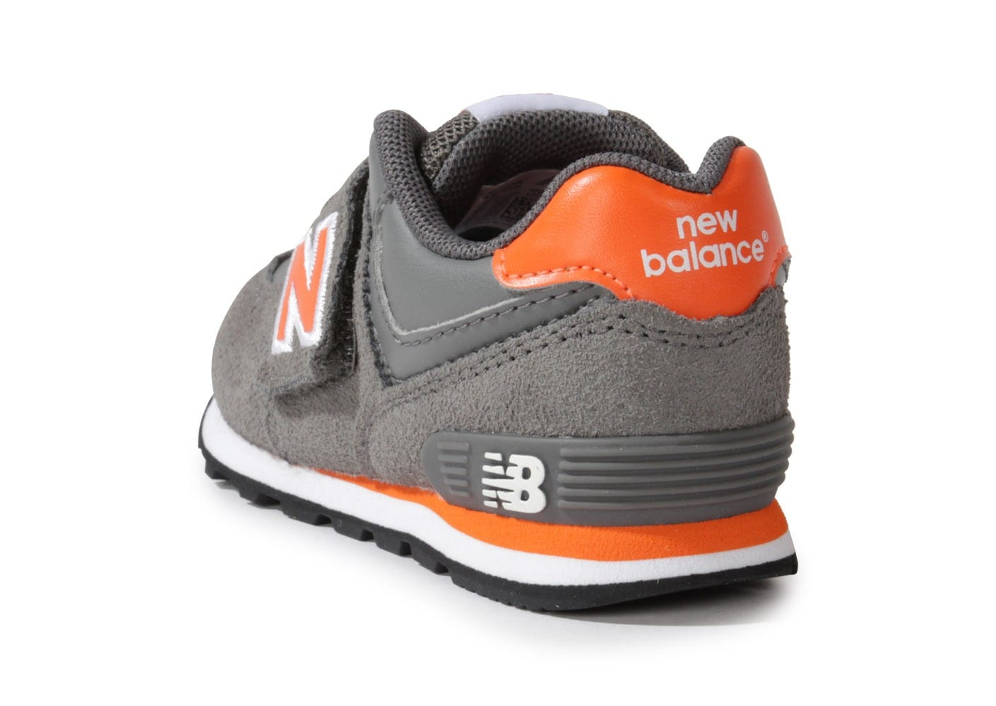 new balance kg574 grise orange chaussures chaussures chausport. Black Bedroom Furniture Sets. Home Design Ideas