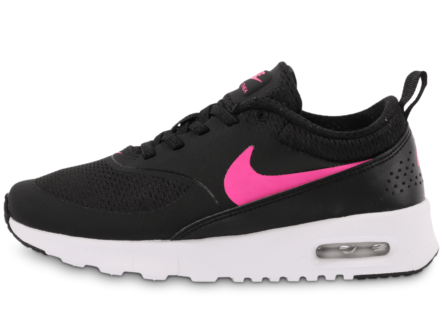 nike air max thea noir et rose enfant chaussures chaussures chausport. Black Bedroom Furniture Sets. Home Design Ideas
