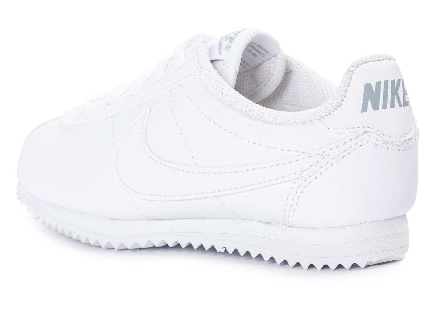 2b351aacdbd ... chaussures nike cortez leather enfant blanche vue arriere