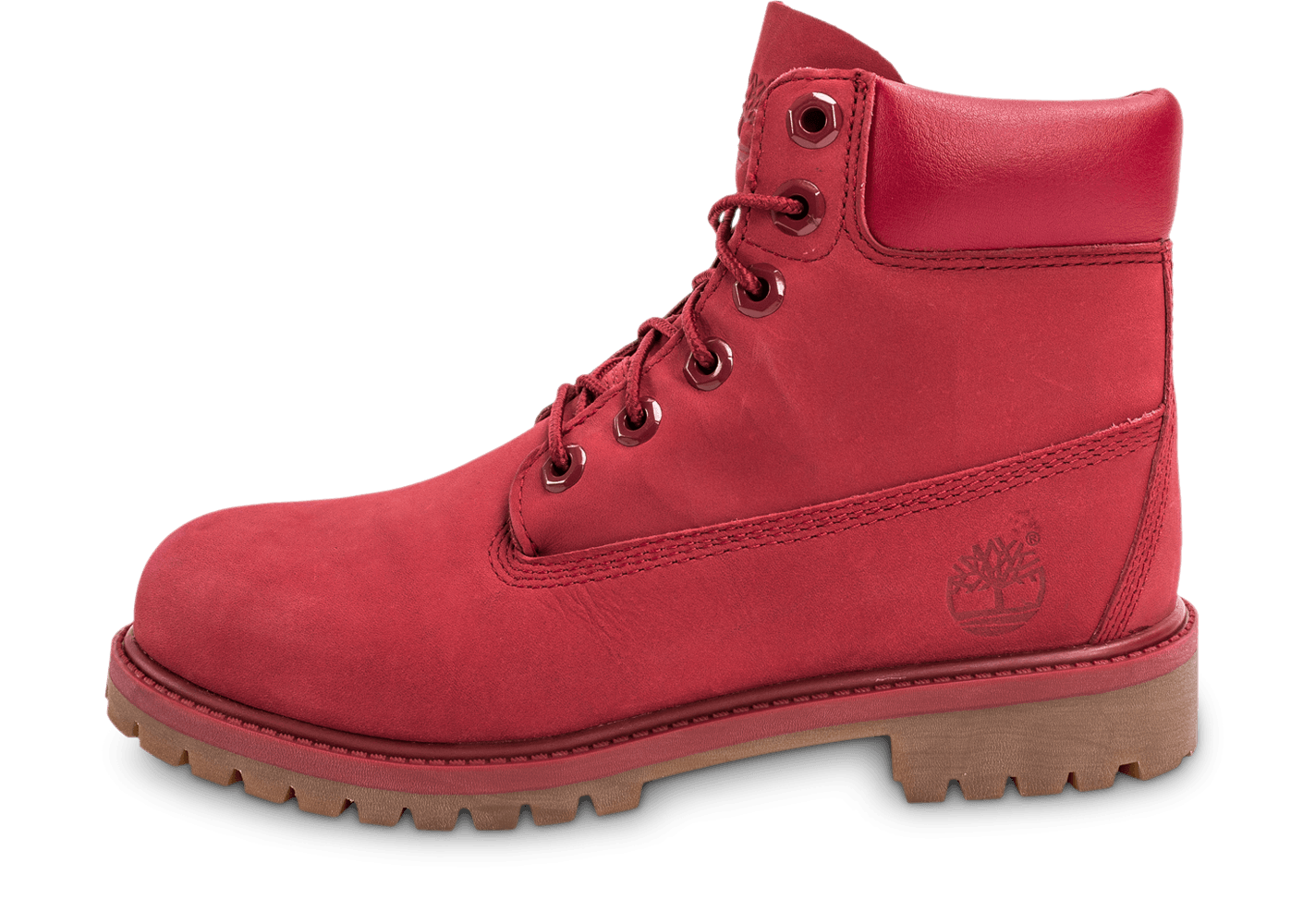 timberland 6 inch premium wp boot junior rouge chaussures femme chausport. Black Bedroom Furniture Sets. Home Design Ideas