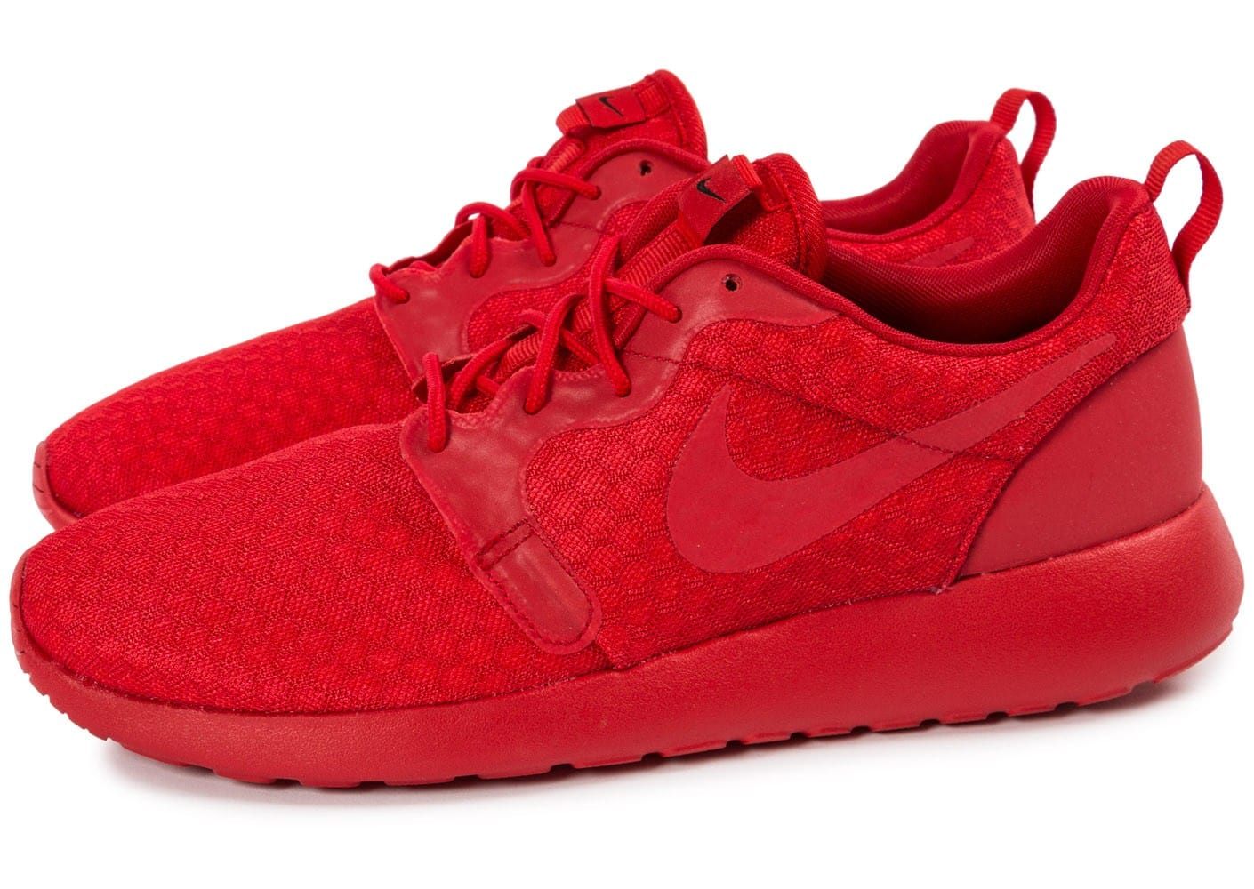 new product 1b617 920de ... chaussures nike roshe one hyperfuse rouge vue par paire