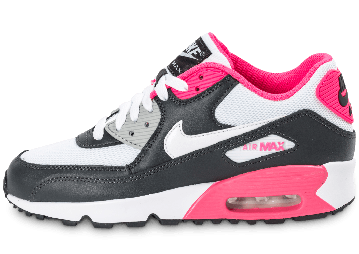 air max noir blanc rose