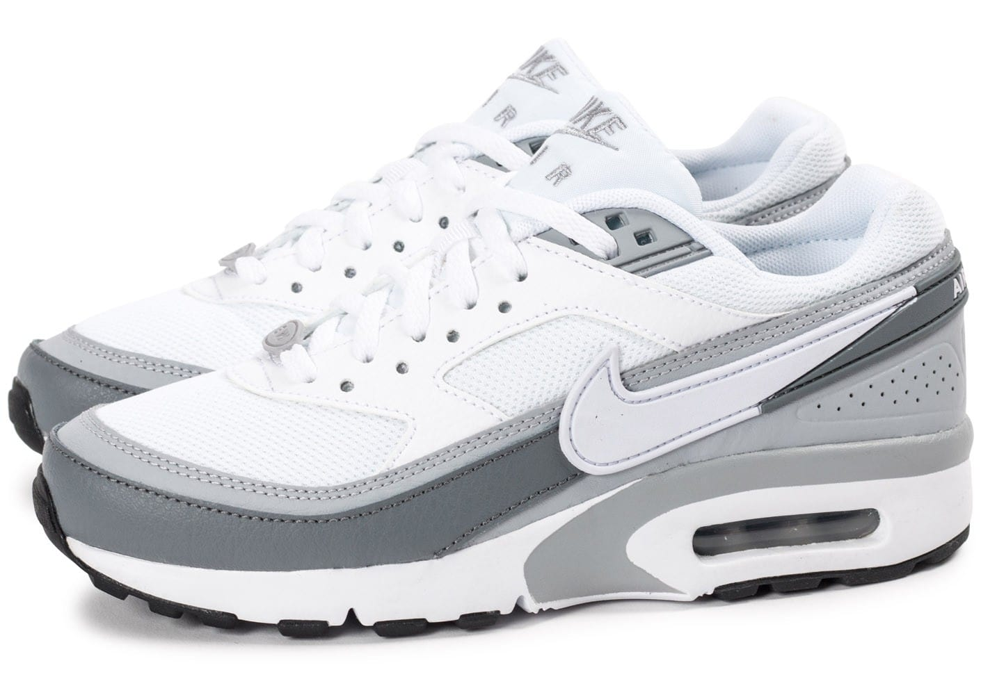 nike air max bw junior blanche et grise chaussures toutes les baskets sold es chausport. Black Bedroom Furniture Sets. Home Design Ideas