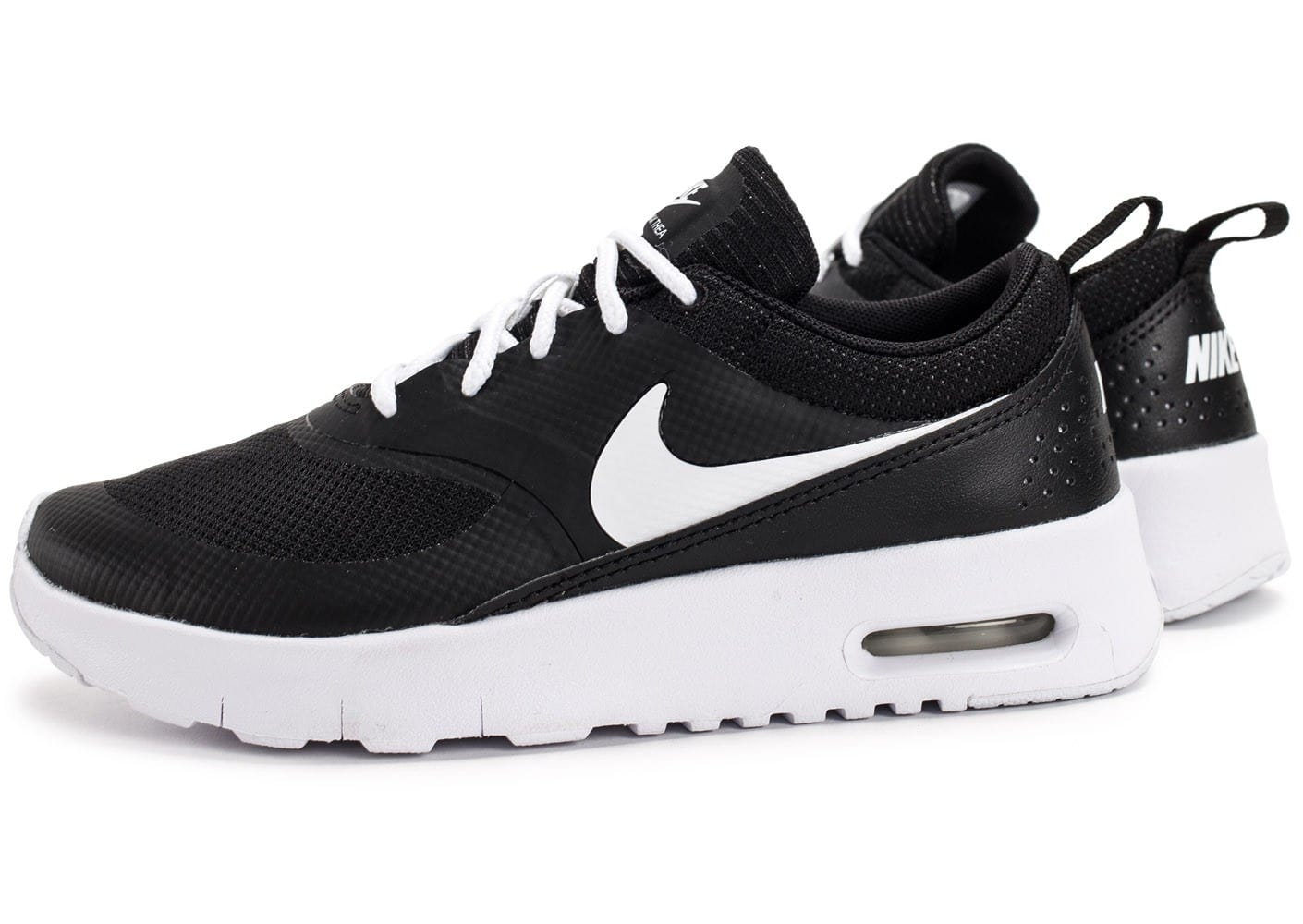 nike air max thea enfant noire et blanche chaussures enfant chausport. Black Bedroom Furniture Sets. Home Design Ideas