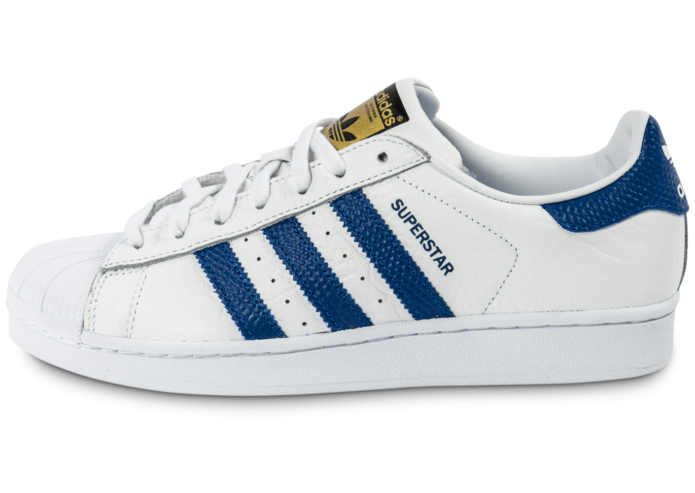 adidas superstar animal blanc bleu chaussures homme chausport. Black Bedroom Furniture Sets. Home Design Ideas
