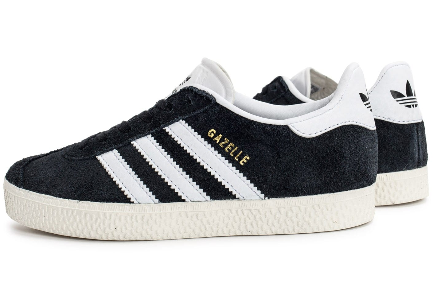 adidas gazelle c enfant noire chaussures adidas chausport. Black Bedroom Furniture Sets. Home Design Ideas