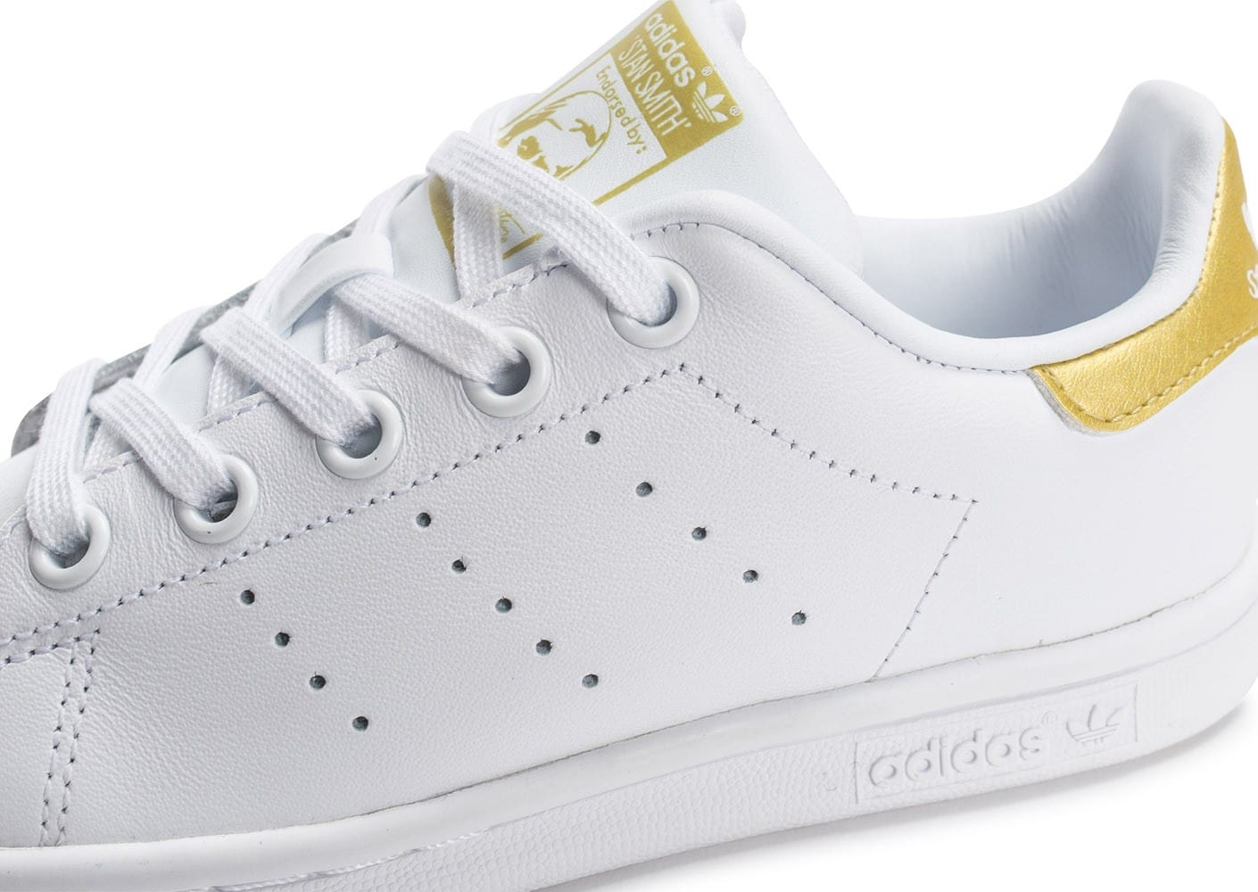 adidas stan smith enfant blanche et or chaussures adidas. Black Bedroom Furniture Sets. Home Design Ideas