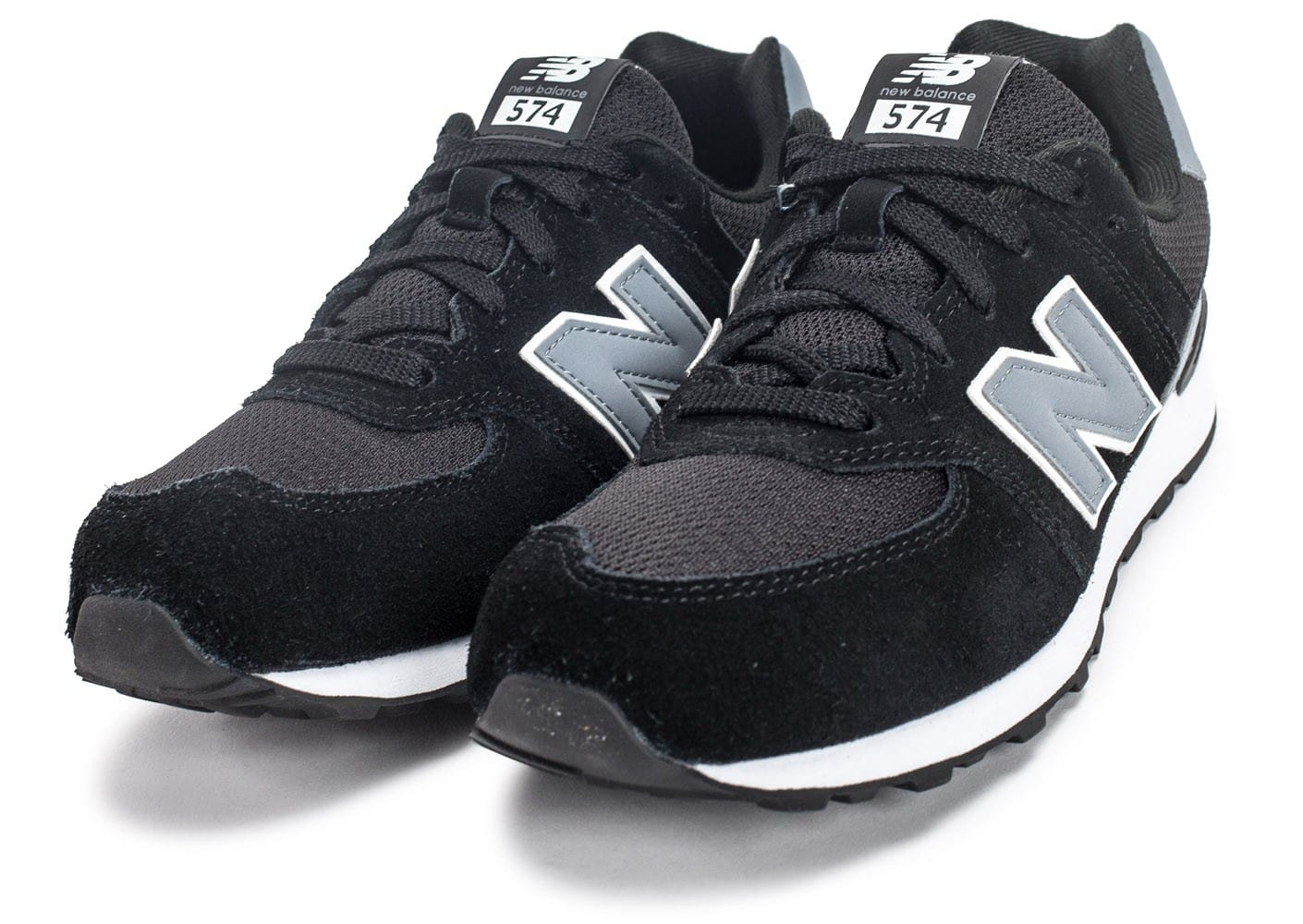 new balance grises junior
