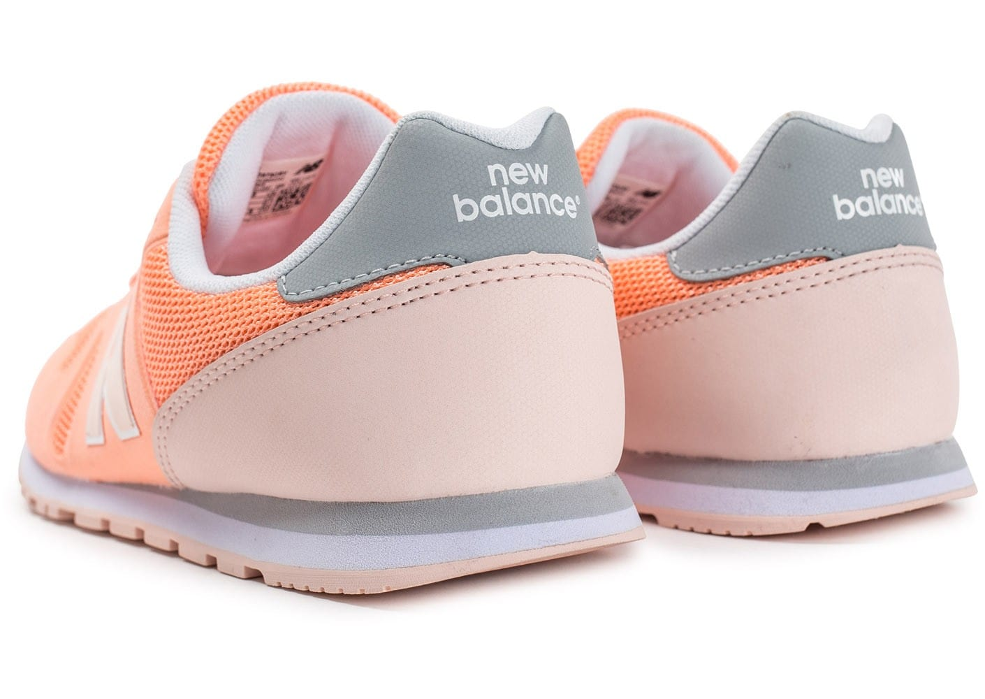 new balance gris corail