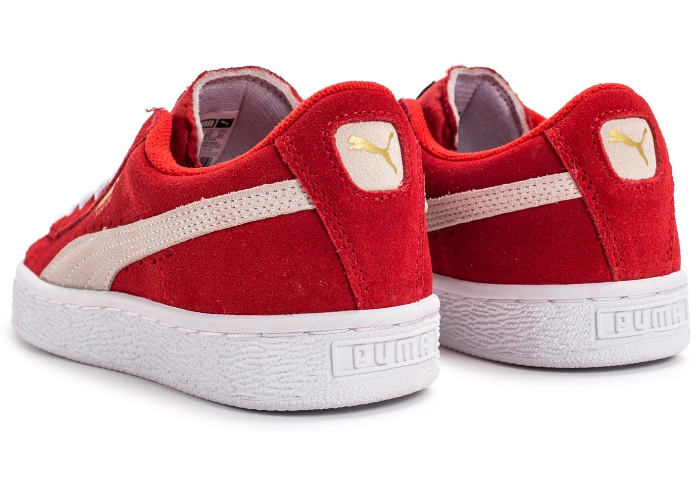 puma junior rouge