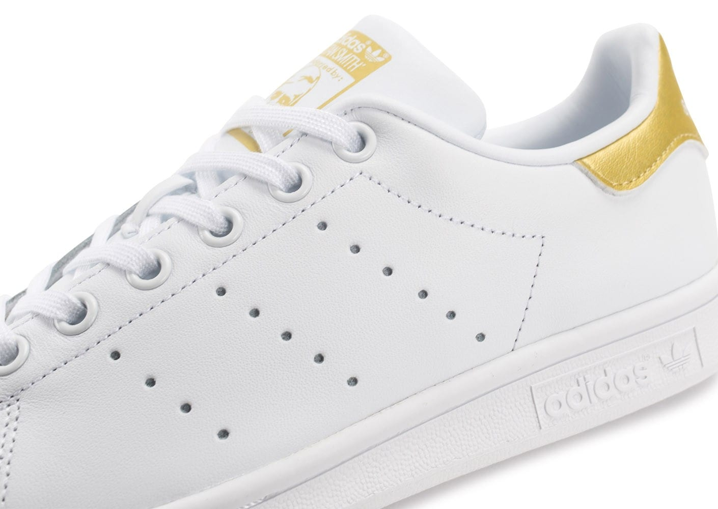 adidas stan smith junior blanche et or chaussures adidas. Black Bedroom Furniture Sets. Home Design Ideas