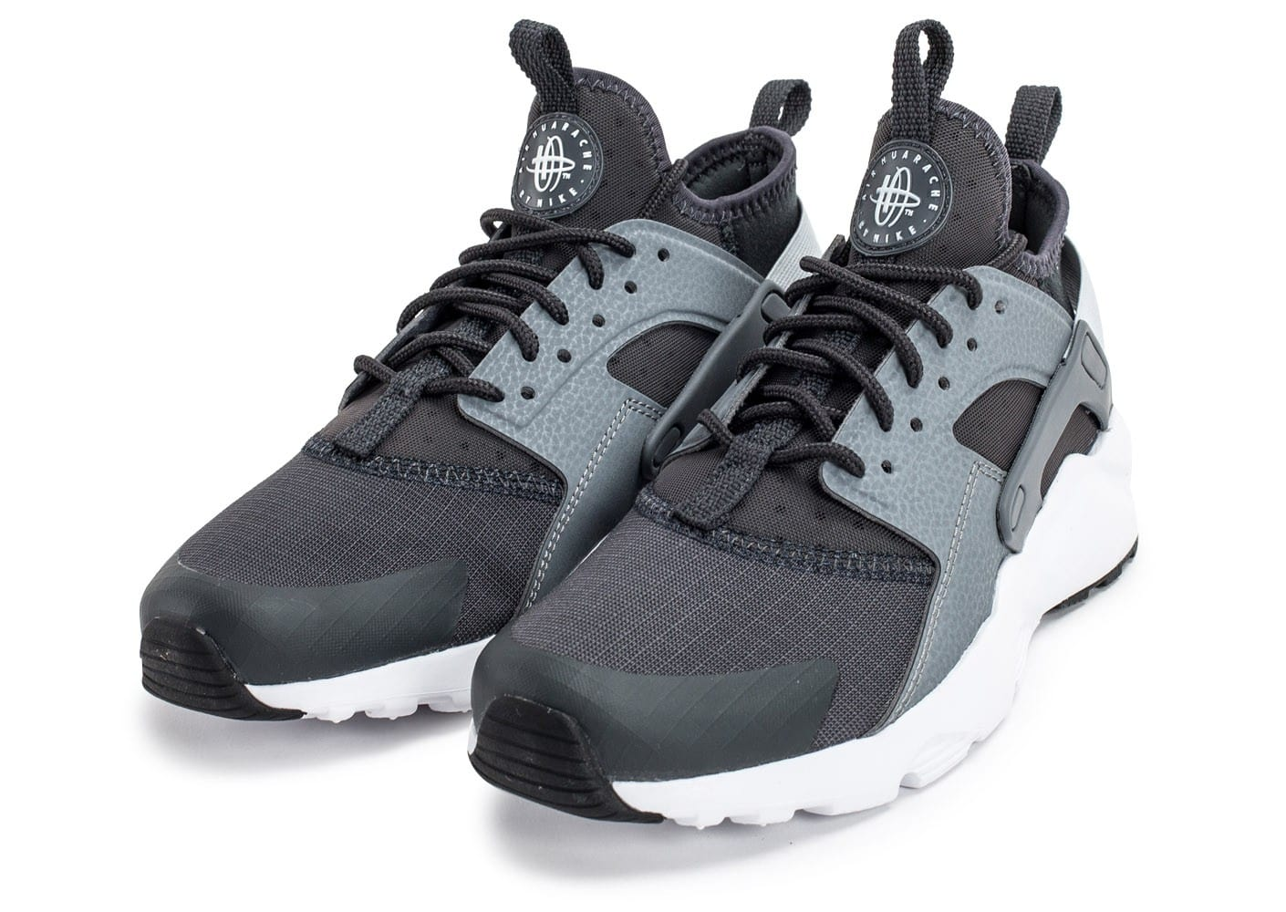 nike air huarache run ultra junior grise chaussures femme chausport. Black Bedroom Furniture Sets. Home Design Ideas